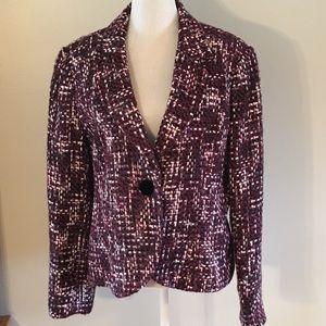 Size 16 beautiful button blazer By Emma James